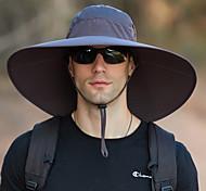 abordables -chapeau de soleil super large bord-upf50 + chapeau de seau étanche crème solaire chapeau de soleil chapeau de pêche chapeau de pêcheur chapeau de randonnée armée vert gris gris foncé pour la pêche, la randonnée, le camping