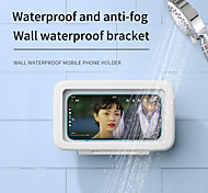 economico -Supporto per cellulare Bagno Cellulare Supporto regolabile Rotazione a 360° Regolabili 360 ° di rotazione Silicone Lega di alluminio ABS Appendini per cellulare iPhone 12 11 Pro Xs Xs Max Xr X 8