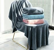abordables -Qualité supérieure Serviette de bain, Mode 100% Molleton / 100 % Polyester Salle de  Bain 1 pcs