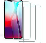 economico -telefono Proteggi Schermo Apple iPhone 11 iPhone XR iPhone 11 Pro iPhone 11 Pro Max iPhone XS Vetro temperato 3 pezzi Alta definizione (HD) Durezza 9H Estremità angolare a 2,5D Proteggi-schermo