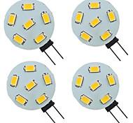 economico -4 pezzi 2 W Luci LED Bi-pin 200 lm G4 6 Perline LED SMD 5730 Bianco caldo Bianco 9-30 V