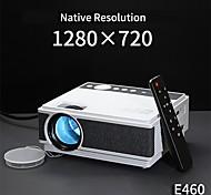 economico -e460 720p led proiettore con hdmi usb lcd proiettore home theater luce e460