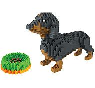 abordables -Blocs de Construction 900+ Chiens compatible Modelé ABS Legoing A Faire Soi-Même Conception animale Garçons et filles Jouet Cadeau / 14 ans et +