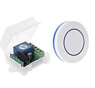 economico -interruttore di controllo remoto wireless a canale singolo dc 12v / modulo relè 10a / interruttore jog per controllo accessi 433m
