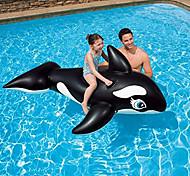 """economico -galleggiante gonfiabile per piscina balena, 76 """"x 47"""", giocattoli gonfiabili per feste gonfiabili in spiaggia estiva, zattera per bambini adulti, giocattoli gonfiabili per adulti in piscina per adulti"""