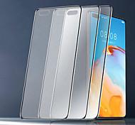 abordables -3pcs / 5pcs protecteur en verre trempé mat bord brillant pour Huawei P40 P30lite Honor X10 Texture mate Film de jeu mat anti-empreintes digitales pour Huawei P Smart Nova 8SE Honor 9 30s Play 4T V30