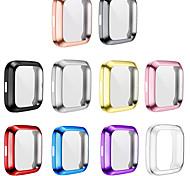 abordables -Pack de 10 protections d'écran compatibles avec Fitbit Versa 2 Protection intégrale en TPU Housse anti-rayures plaquée pour Versa 2 Smartwatch