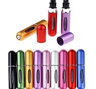 abordables -Voyage Mini Rechargeable Conveniet Vide Atomiseur Bouteilles De Parfum Pompe De Parfum Spray Case Parfum Pompe Airless Conteneur Cosmétique