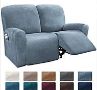 economico -fodera per divano reclinabile componibile 1 set di 6 pezzi fodera per divano in velluto di alta qualità elasticizzata in microfibra fodera per divano per 2 posti cuscino divano reclinabile