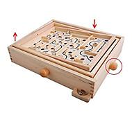 economico -labirinto da tavolo in legno / labirinto da tavolo da biliardo, gioco da tavolo per bambini e adulti - grande - ottimo regalo