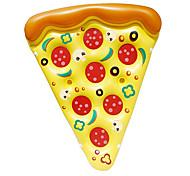 abordables -Jouets Gonflables de Piscine Radeau de salon Montez sur PVC / vinyle Pizza Plaisir de l'eau Faveur de fête Baignade à la plage d'été 1 pcs Garçons et filles Enfant Adulte