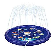 """economico -irrigatori splash pad per bambini, esercizio e gioco 68"""" pad irrigatore gonfiabile mini piscina per bambini piccoli bambini giardino di famiglia cortile con motivo spaziale"""