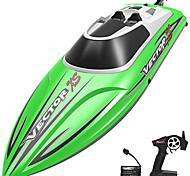 economico -barca telecomandata per barca rc per piscina e lago, barche giocattolo veloci da 20 mph per bambini e adulti, moto d'acqua autoraddrizzante radiocomandata con 2 batterie ricaricabili per ragazzi&