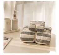 abordables -Qualité supérieure Serviette de bain, Mode Mélangé polyester / coton Salle de  Bain 1 pcs