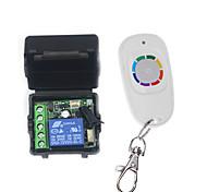 economico -interruttore di controllo remoto dc 12v 1ch / interruttore relè codice di apprendimento / modo di lavoro momentaneo 433 mhz