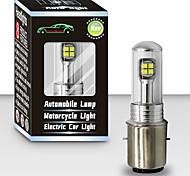 abordables -otolampara taille de l'ampoule d'origine plug and play installation super lumineux légèreté moto phare LED bulbh7 h1 h4 ba20d h8 pour harley / honda / suzuki / kawasaki 1 pièces