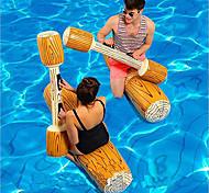 abordables -Jouets Gonflables de Piscine Jeux de Table Radeau de salon PVC / vinyle Plaisir de l'eau Journaux de combat Faveur de fête Baignade à la plage d'été 4 pcs Garçons et filles Enfant Adulte