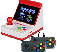abordables -360 Games in 1 Consoles de Jeu Portative Mini arcade rétro Boxe Frais Carte de jeu intégrée Prise en charge de la sortie TV Thème classique Traversin Jeux vidéo rétro avec 3 pouce Écran Enfant Adulte