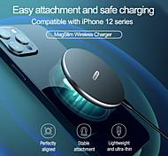abordables -nillkin 10w chargeur magnétique sans fil magslim pour iphone 12 pro fixation facile charge sûre mini pad de charge sans fil de haute qualité pour samsung huawei xiaomi oneplus