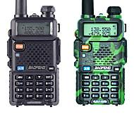 abordables -UV-5R BAOFENG Etanche / Portable / GPS Portable 3 - 5 km 3 - 5 km 1800 mAh 5 W Talkie walkie Radio bidirectionnelle