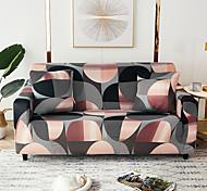 abordables -1 pc housse de canapé lignes colorées géométriques salon élastique canapé pour animaux de compagnie housse de protection inclinable