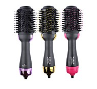 abordables -sèche-cheveux en une étape& styler& Volumizer - Brosse à air chaud à ions négatifs 3 en 1 pour tous les types de cheveux - avec fonction anti-brûlure pour un usage domestique