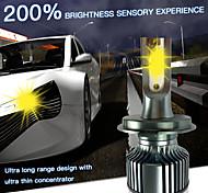 abordables -OTOLAMPARA Automatique LED Lampe Frontale H7 / H4 / H3 Ampoules électriques 4000 lm LED Haute Performance 40 W 2 Pour Universel Tous les modèles Toutes les Années 2 pièces