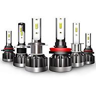 abordables -otolampara style ultra-mince 40w 4000lm csp ampoules de phares de voiture à LED ampoules de phares de voiture h7 9006 h1 9005 ampoules de phare 6000k ip68 résistance étanche plug and play installation