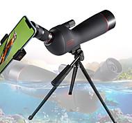 abordables -GOMU 20-60 X 60 mm Monoculaire Résistant aux intempéries Télescope Pliage Taille de voyage 130/1000 m Multi-traitées BAK4 Chasse Spectacle Activités Extérieures