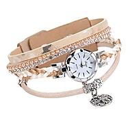 economico -orologio da polso con strass da donna moda bracciale da donna orologio da polso al quarzo