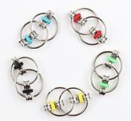 abordables -TDAH anti-stress adulte fidget jouets porte-clés spinner à la main fidget portant tri-spinner jouet en métal pour adultes et enfants