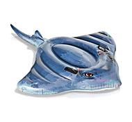 abordables -Jouets Gonflables de Piscine Radeau de salon avec poignées Montez sur PVC / vinyle Poissons Plaisir de l'eau Stingray Faveur de fête Baignade à la plage d'été 1 pcs Garçons et filles Enfant Adulte