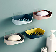 abordables -porte-savon de vidange boîte à savon murale salle de bain porte-savon sans poinçon