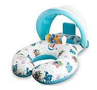 abordables -Jouets Gonflables de Piscine Flotteur de natation pour bébé Auvent pare-soleil avec siège de sécurité PVC / vinyle Plaisir de l'eau Baignade à la plage d'été 1 pcs Garçons et filles Enfant Bébé
