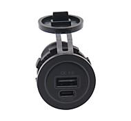 economico -Multiuscita / QC 3.0 / Ricarica veloce USB 2 porte USB Solo caricabatterie 2.5 A