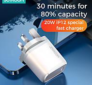 abordables -joyroom nrt-dy139e 20w chargeur pd chargeur rapide de type c intelligent pour iphone 12 pro max support de chargeur de type c qc3.0 charge super rapide Samsung Huawei