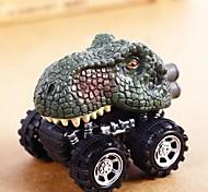 abordables -Tirer le jouet de dinosaure de voiture avec la grande roue de pneu 3-14 ans garçon fille cadeau créatif pour les enfants retirer les jouets de modèle de dinosaure