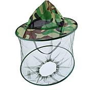 abordables -aventure en plein air chapeau d'explorateur de la nature camouflage apiculture chapeau de pêche casquettes de moustiquaire maille apiculteur masque de protection anti-abeille couverture de tête de