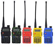abordables -baofeng uv-5ra talkie-walkie interphone portable / invite vocale numérique / double affichage émetteur-récepteur 1,5 km-3 km 1,5 km-3 km 128 1800 mah 5w / 136-174mhz / 400-520mhz / double bande