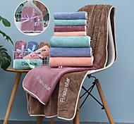 abordables -litb base salle de bain serviette de bain douce de qualité supérieure couleur unie confortable absorbant quotidien serviettes de bain à la maison 1 pcs 70 * 140 cm
