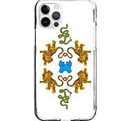 abordables -Imprimés Photos Animal Cas Pour Pomme iPhone 12 iPhone 11 iPhone 12 Pro Max Modèle unique Étui de protection Motif Coque TPU