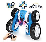 abordables -voiture télécommandée, voiture de course électrique 2,4 GHz, voiture de course de voitures rc, jouet de voiture de cascade, rotation rotative à 360 ° double face pour enfants voitures jouets pour
