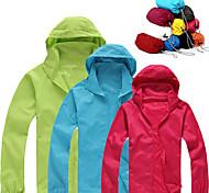 economico -protezione solare uv upf 50+ da donna giacca leggera giacca con cappuccio con zip giacca a vento camicia da sole rinfrescante con tasche cappotto ripiegabile ad asciugatura rapida top escursionismo