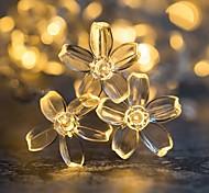 economico -3M 6m Fili luminosi 20/40 LED 1 set Bianco caldo Multicolore Natale Capodanno Feste Decorativo Vacanze Batterie AA alimentate