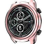 abordables -étui compatible avec ticwatch pro 3 gps montre intelligente accessoires étui tpu plaqué coque de protection pare-chocs pour pro 3 uniquement