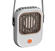 economico -ct-101 mini elettroventilatore portatile a collo sospeso con alimentatore silenzioso mini ventola da tavolo soluzione di raffreddamento silenziosa per il trasporto dell'ufficio domestico