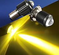 economico -otolampara 1 pezzo h4 fari a led per motocicli lampadine 30w modello a fascio luminoso doppio colore faro per moto ba20d ip68 resistenza impermeabile