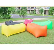 abordables -lit gonflable paresseux de loisirs de plein air de canapé d'air portatif gonflable rapide pliable