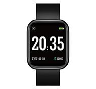 abordables -696 i5puls Unisexe Bracelets Intelligents Bluetooth Ecran Tactile Moniteur de Fréquence Cardiaque Mesure de la pression sanguine Sportif Calories brûlées Chronomètre Podomètre Moniteur de Sommeil