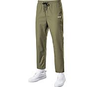 economico -Per uomo Pantaloncini Carico All'aperto Sport Casuale Sport Pantaloncini Carico tattico Pantaloni Liscio Lunghezza del ginocchio Nero Verde militare Grigio
